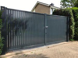 dichte toegangspoort