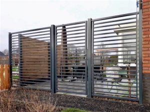 moderne enkele poort